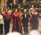 Verdi Requiem soloists take a bow